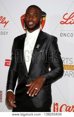 LOS ANGELES - JUL 12:  Chris Paul at the 2nd Annual Sports Humanitarian Of The Year Awards at the Congo Room on July 12, 2016 in Los Angeles, CA