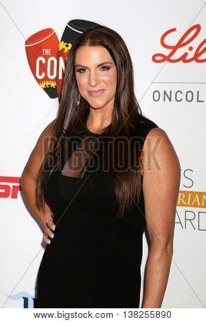 LOS ANGELES - JUL 12:  Stephanie McMahon at the 2nd Annual Sports Humanitarian Of The Year Awards at the Congo Room on July 12, 2016 in Los Angeles, CA