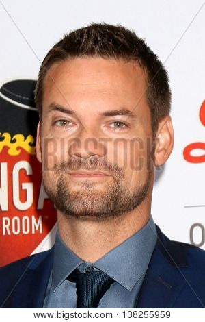 LOS ANGELES - JUL 12:  Shane West at the 2nd Annual Sports Humanitarian Of The Year Awards at the Congo Room on July 12, 2016 in Los Angeles, CA