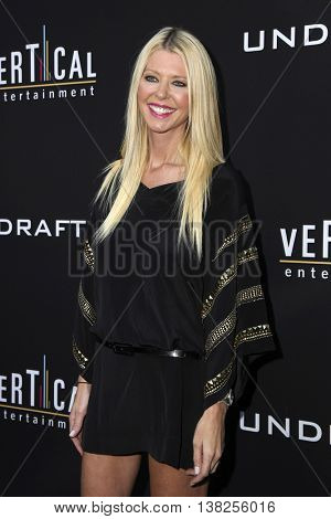 LOS ANGELES - JUL 11:  Tara Reid at the  Undrafted Los Angeles Premiere  at the ArcLight Hollywood on July 11, 2016 in Los Angeles, CA