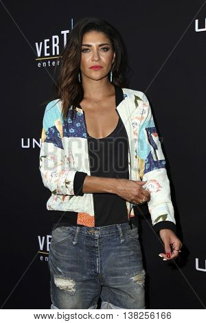 LOS ANGELES - JUL 11:  Jessica Szohr at the  Undrafted Los Angeles Premiere  at the ArcLight Hollywood on July 11, 2016 in Los Angeles, CA