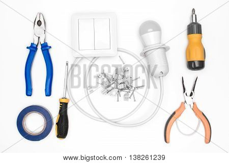 Tool Set For Electrician