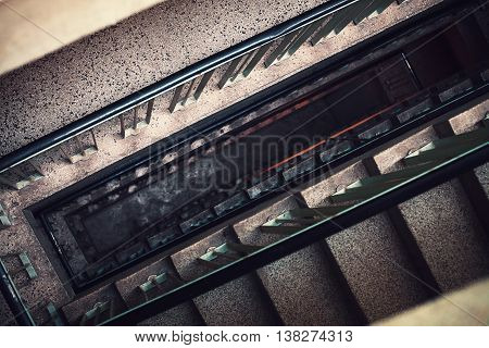 Old Building Staircase