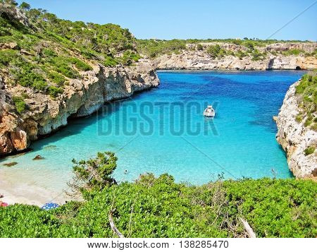 Beach / bay Calo d'Es Moro Majorca