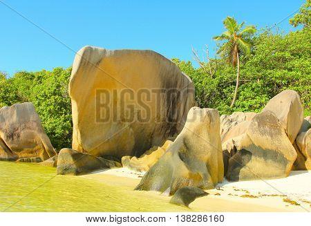 National Park Anse Source d'Argent