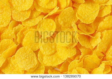 pile of corn flakes - full frame