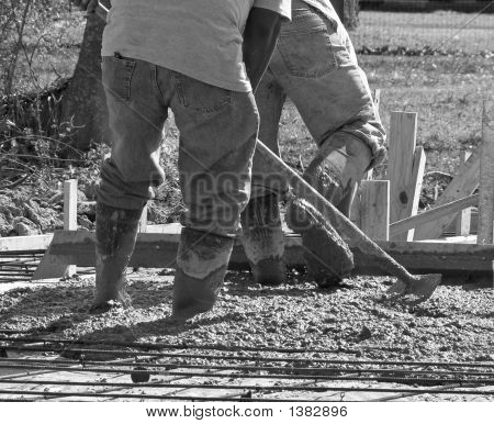 Concrete Work 2 Bw