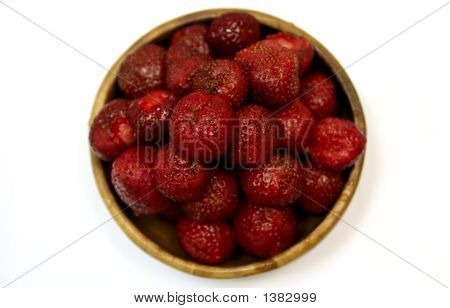 Dish Of Strawberry