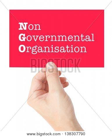 NGO concept