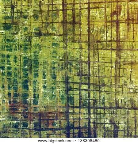 Decorative vintage texture or creative grunge background with different color patterns: yellow (beige); brown; gray; black; green