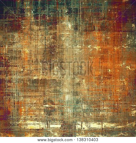 Colorful grunge background, tinted vintage style texture. With different color patterns: yellow (beige); brown; gray; green; red (orange); purple (violet)