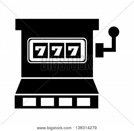 jackpot winner isolated icon design, vector illustration  graphic