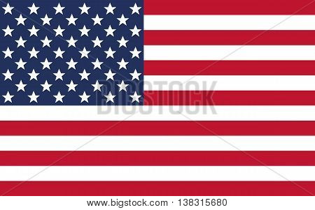 flag, usa, american, vector, waving, background, banner, decoration, america