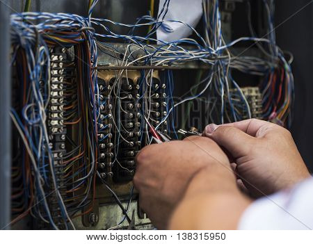 Searching for error on older internet cable infrastructure.