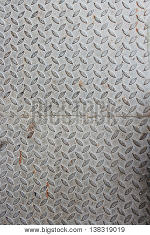 steel sheet metal pattern texture Table of background