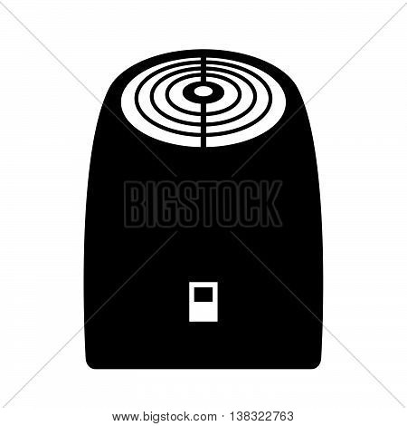 Air ozonator ( shade picture ) on white