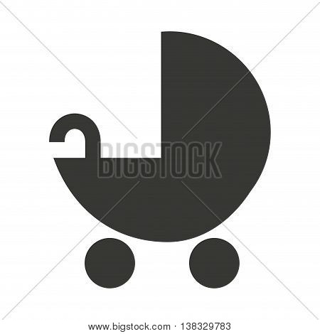 baby cart  isolated icon design, vector illustration  graphic