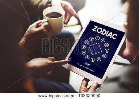 Zodiac Historic Prediction Astronomy Concept