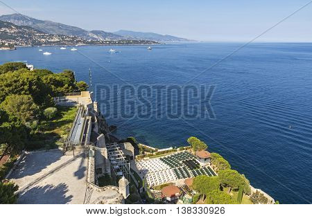 Open-air Theater In Monaco