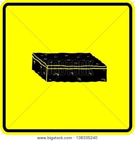 scrub sponge sign