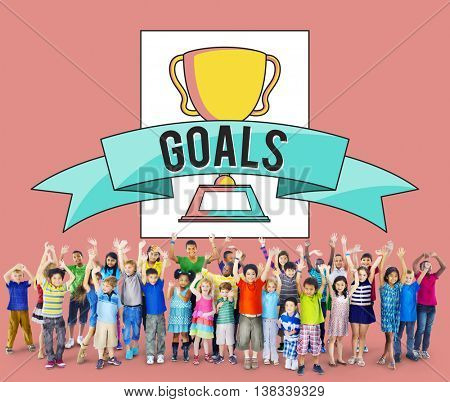Goals Achievement Accomplishment Motivation Concept