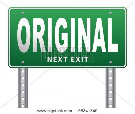Original and authentic, premium top quality product guaranteed. Custom build or made customized handcraft hand crafted, road sign billboard.  3D illustration, isolated, on white