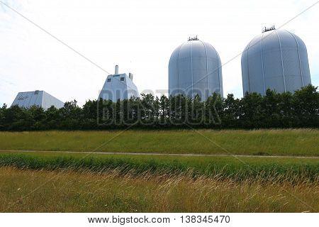 Power plants in Denmark using oil for power