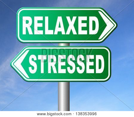 stress therapy and management helps in relaxation reduce tension and relief negativity become relaxed not stressed reduction of negative vibes  3D illustration, isolated, on white