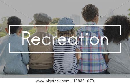 Recreation Relax Chill Calm Freedom Happiness Concept