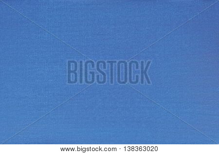Natural Bright Blue Fiber Linen Cloth Book Binding Texture Pattern, Large Detailed Macro Closeup, Textured Vintage Fabric Burlap Canvas Background, Blank Empty Horizontal Copy Space