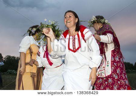 Celebration Of The Night Of Ivan Kupala