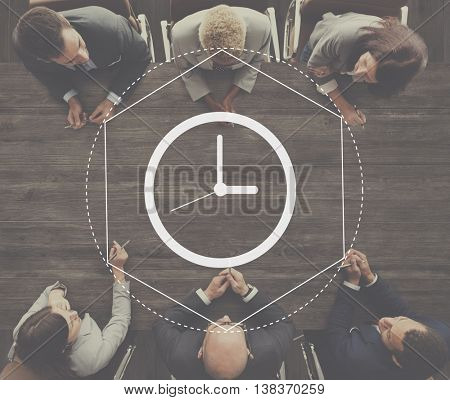 Time Management Duration Interval Graphic Concept