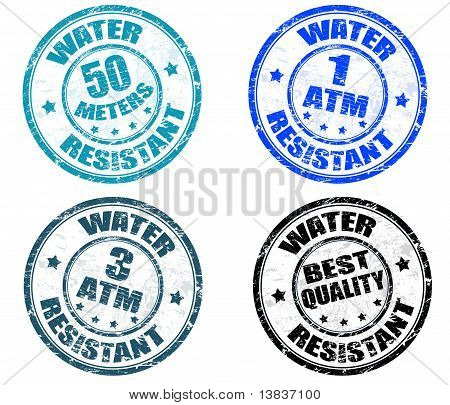 Water Resistant Stamps