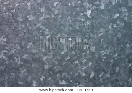 Galvanized Metal Surface