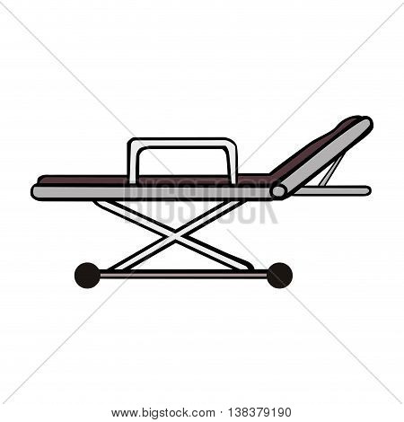Medical equipment isolated flat icon, vector illustration graphic.