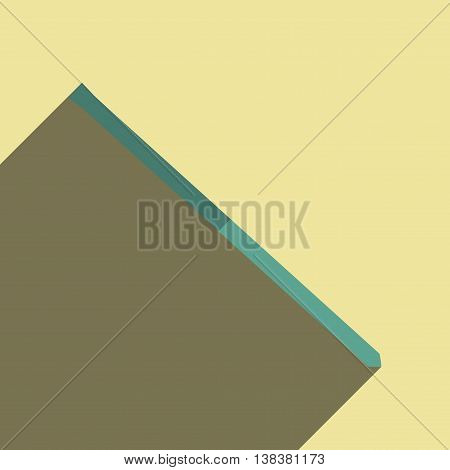 Flat icons with shadow of scrap. Vector illustration