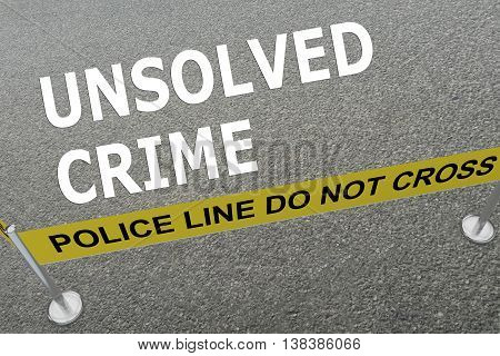 Unsolved Crime Concept