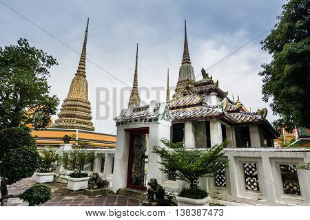 Wat Pho [  Wat Phra Chetuphon ],Bangkok,Thailand.