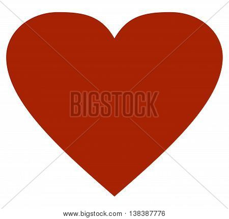 Heart icon illustration love sparse flat valentine's day