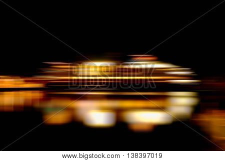 Horizontal vibrant vivid moving ship abstraction background backdrop