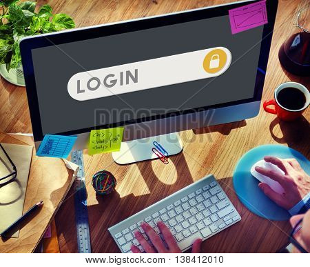 Log In Accessible Permission Verification Security Concept