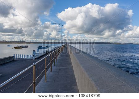 Breakwater, Lady Bay, Warrnambool, Australia