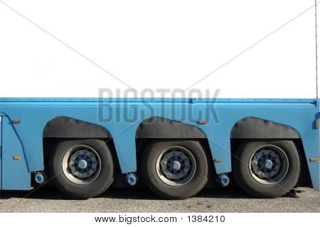 Trailer Of Truck Detail