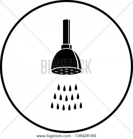 shower head symbol