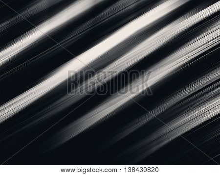 Horizontal vivid black and white diagonal stripes background
