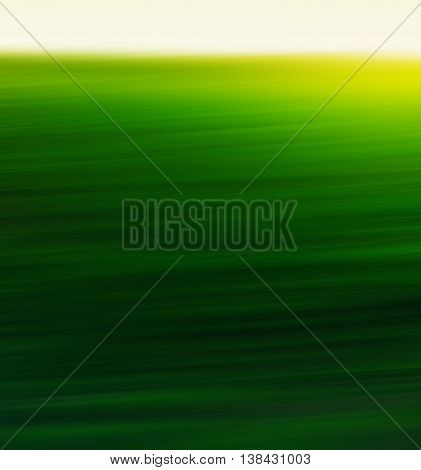 Vertical green yellow sunny field abstract backdrop
