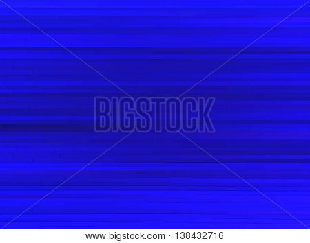 Horizontal dark blue 3d extruded lines abstraction background