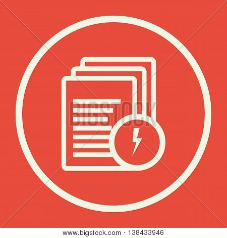 Files Flash Icon In Vector Format. Premium Quality Files Flash Symbol. Web Graphic Files Flash Sign