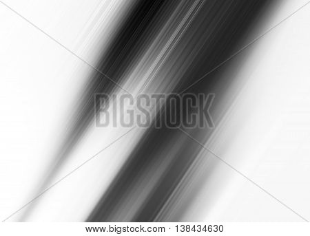 Diagonal Black And White Motion Blur Abstract Background