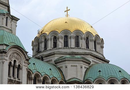 Alexander Nevski Orthodox Cathedral in Sofia, Bulgaria